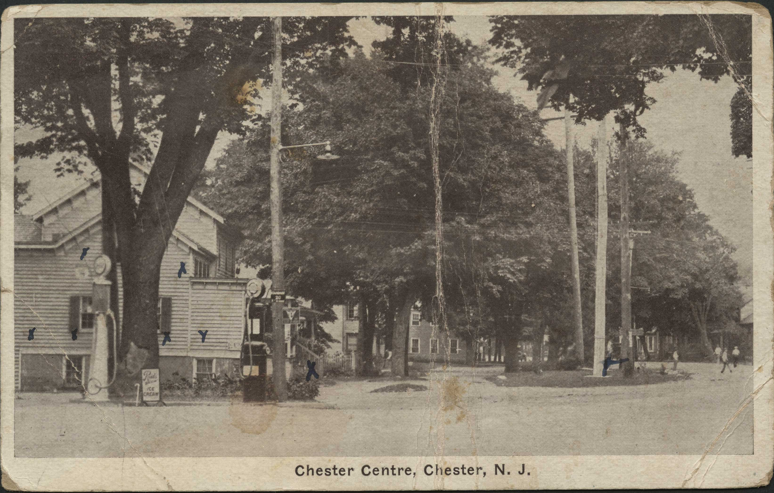 Chester Centre Postcard
