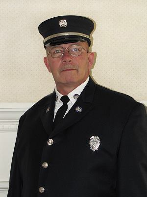 Louis Lee Case, Jr. in his Chester Volunteer Fire Company uniform, 2011.