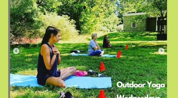 Weekly Outdoor Yoga