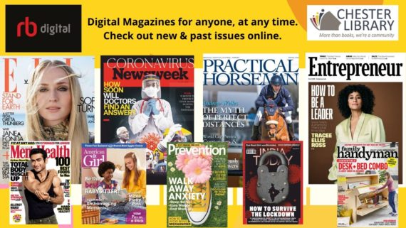 RBdigital Magazines features full-color, digital editions of top magazines for instant desktop reading, mobile streaming, and mobile-app download. You can check out both new and back issues to get all of your favorite digital magazines at your fingertips!
