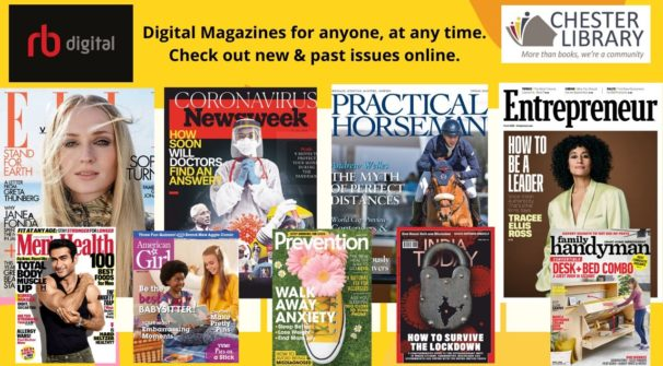 Read Your Favorite Magazines Anytime/Anywhere