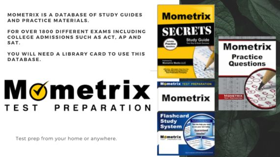 Test Prep from your home or anywhere.  Mometrix is a database of study guides and practice  materials for over 1800 different exams including college admissions such as ACT, AP and SAT.