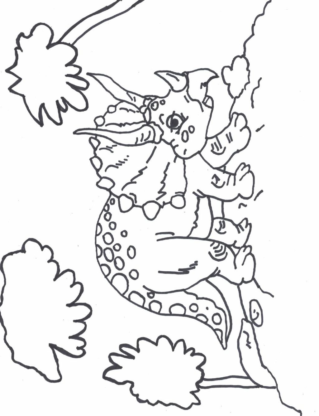 Dinosaur Coloring Sheet - Chester Library