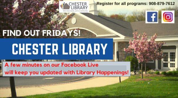 Find Out Fridays on Facebook Live!