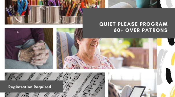 Mature Mornings: Outdoor Programs for 60+Over Patrons (Starting May 2021)