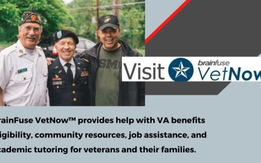 Vet Now – VA benefits, eligibility, community resources, and live chats with experts