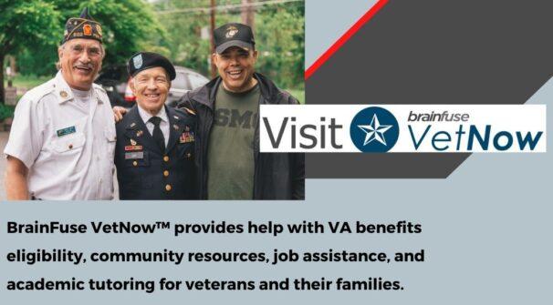 Vet Now: Providing help with VA benefits