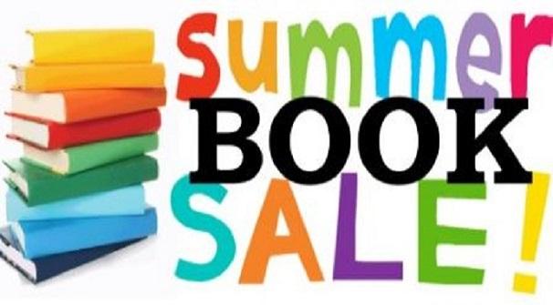 Summer Book Sale – Sat. Aug. 7th & Sun. Aug. 8th 10 am – 2 pm
