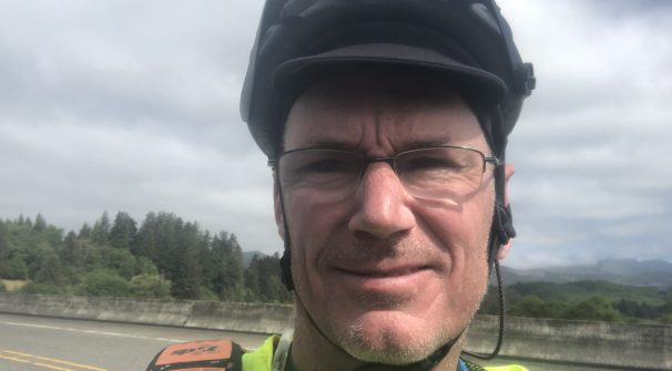 Suit to Saddle: Cycling to Self-Discovery on the Southern Tier with Larry Walsh, Author